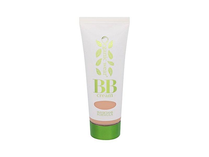 Physicians Formula Organic Wear 100% Natural Origin BB Beauty Balm Cream, Light/Medium, 1.2 Fluid Ounce