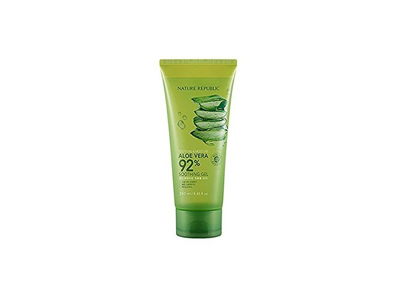 Nature Republic Soothing and Moisture Aloe Vera 92% Soothing Gel, 8.45 fl oz