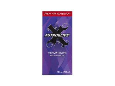 Astroglide X Premium Silicone Personal Lubricant, 2.5 oz