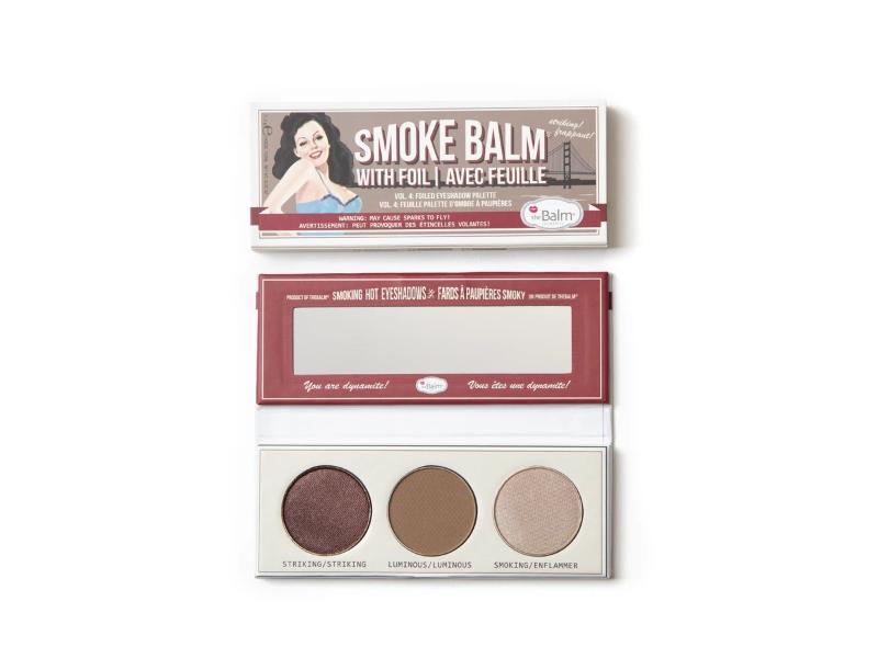 theBalm SmokeBalm Vol. 4 Foiled Eyeshadow Palette