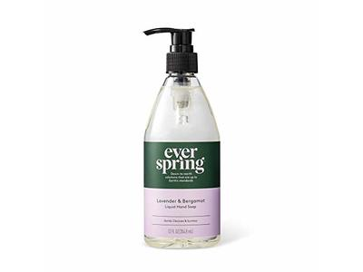 Everspring Lavender & Bergamot Liquid Hand Soap - 12 fl oz