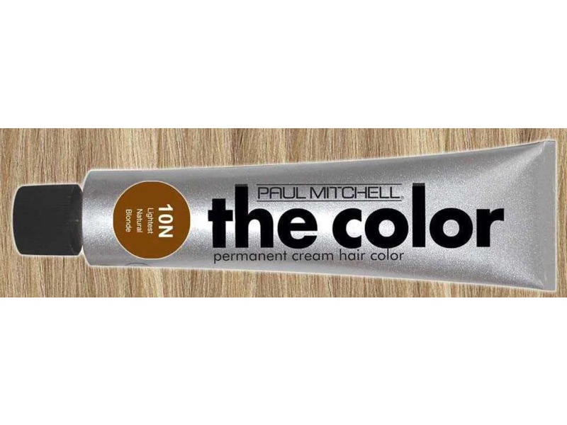 Paul Mitchell The Color Permanent Cream Hair Color, 10N Lightest Natural Blonde, 3 oz
