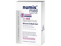 Numis Med pH 5.5 Sensitive Shower & Bath Gel, 200 mL - Image 3