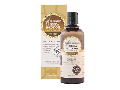 Out Of Africa Body Oil, Vanilla, 9 Ounce