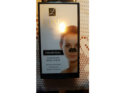 Luxe Charcoal Cleansing Nose Strips