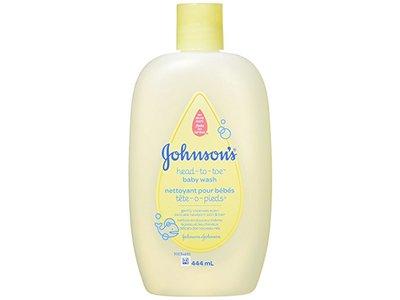 Johnson's Head to Toe Baby Wash, 444 ml - Image 1