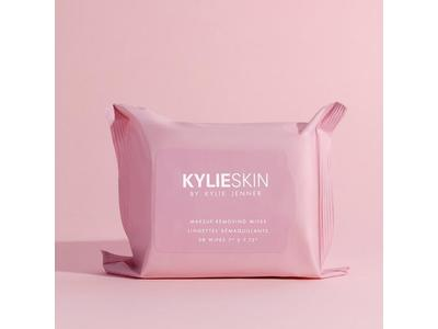 Kylie Skin Makeup Removing Wipes, 30 count