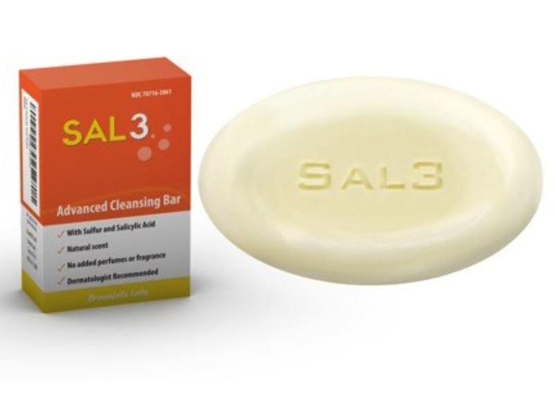 Braunfels Labs Sal3 Advanced Cleansing Bar, 3.5 oz