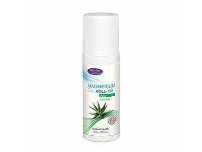 Life-flo Magnesium Oil Roll-On Plus Aloe Vera, 3oz