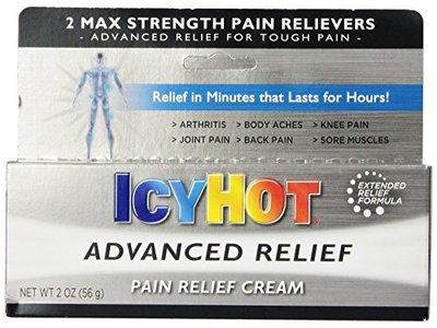 Icy Hot Advanced Relief Pain Relief Cream - 2 Oz, 3 Pack