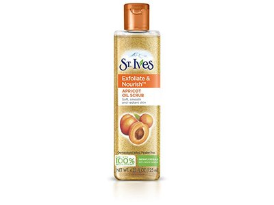 St. Ives Facial Oil Scrub Apricot 4.23 oz