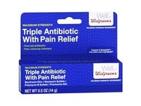 Walgreens Triple Antibiotic with Pain Relief, .5 oz - Image 2