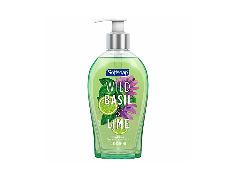 Softsoap Liquid Hand Soap, Wild Basil & Lime