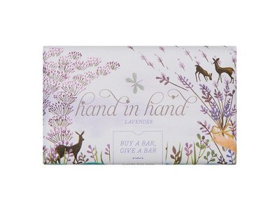 Hand In Hand Bar Soap, Lavender, 5 oz