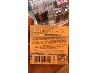 theBalm Balm Beach Face Blush warm it up, .197 oz - Image 4