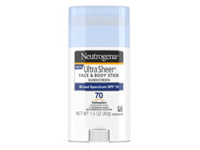 Neutrogena Ultra Sheer Face & Body Stick Sunscreen, Broad Spectrum SPF70, 1.5 oz - Image 2