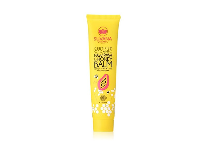 Suvana Certified Organic Paw Paw & Honey Balm 0.88 oz