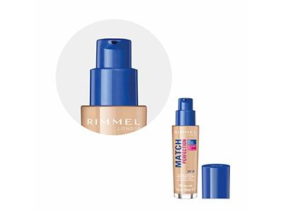 Rimmel Match Perfection Liquid Foundation SPF 20 Color 103 True Ivory 1 oz - Image 5