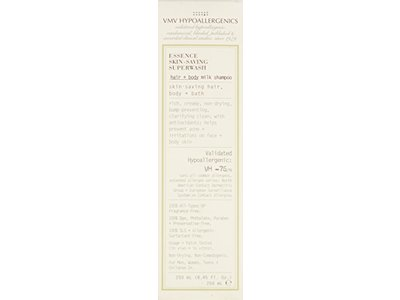 VMV Hypoallergenics Essence Skin-Saving Superwash Hair and Body Milk Shampoo, 8.45 Ounce - Image 4