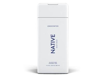 Native Body Wash, Unscented, 11.5 oz