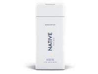 Native Body Wash, Unscented, 11.5 oz - Image 2