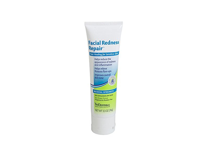 Triderma Facial Redness Repair, 3.3 Ounce