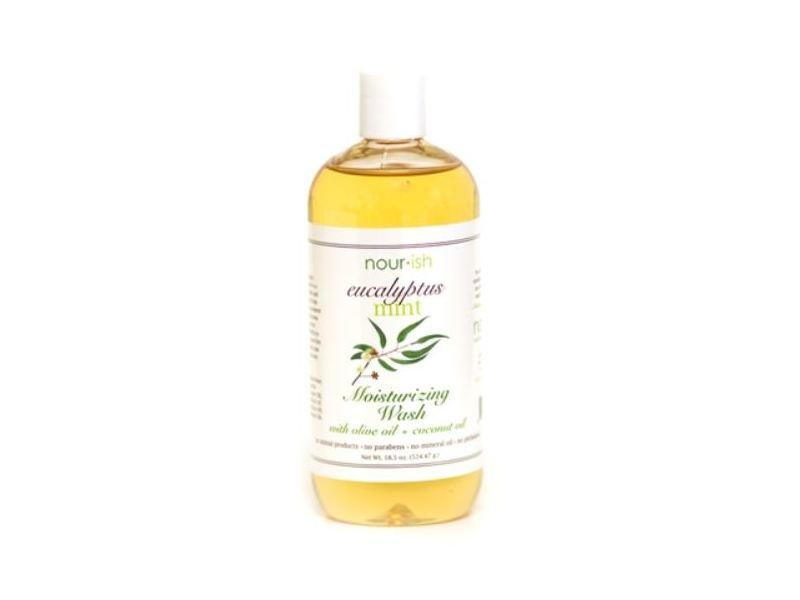 Nourish Moisturizing Wash, Eucalyptus Mint, 18.5 oz