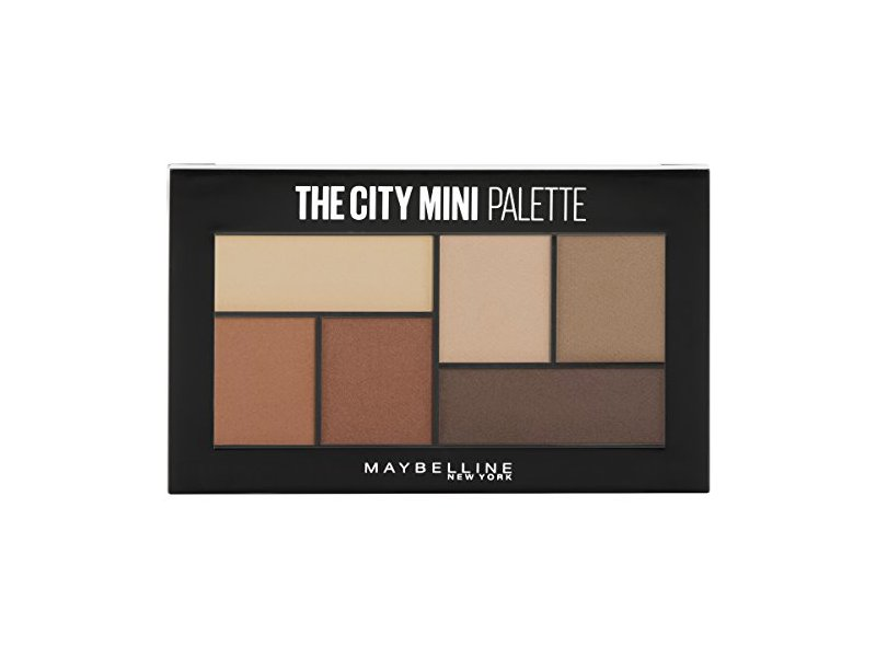 Maybelline The City Mini Eyeshadow Palette Makeup, Brooklyn Nudes, 0.14 oz.
