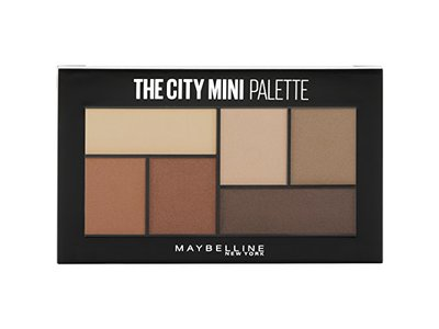 Maybelline The City Mini Eyeshadow Palette Makeup, Brooklyn Nudes, 0.14 oz. - Image 1