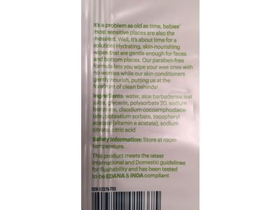 BabyGanics Flushable Wipes, Thick N Kleen, 60 Count - Image 10