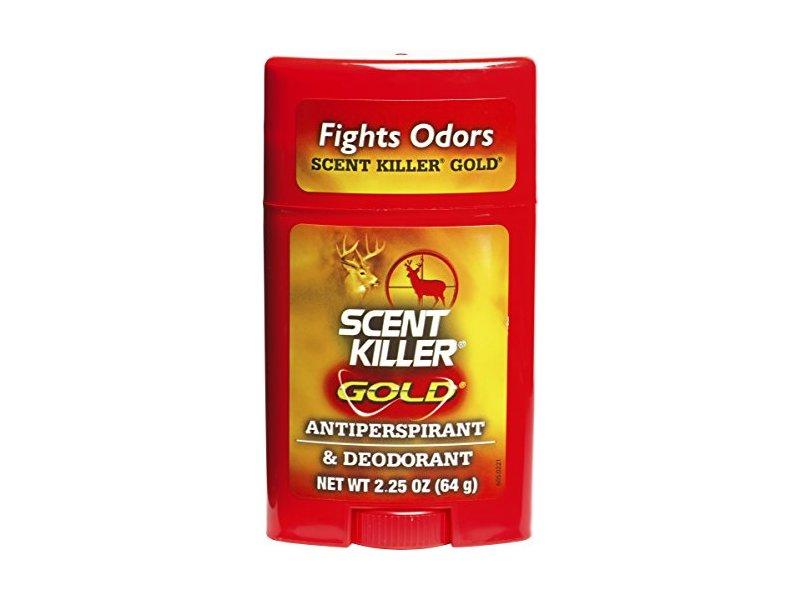 Wildlife Research Center Scent Killer Gold Antiperspirant And Deodorant, 2.25 oz / 64 g