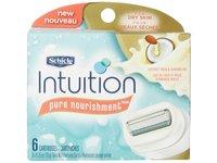 Schick Intuition Pure Nourishment Moisturizing Razor Blade Refills for Women with Coconut Milk and Almond Oil, 6 Count - Image 9