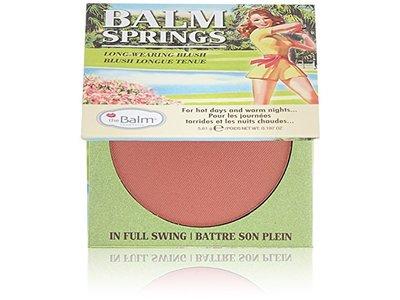 theBalm Balm Springs Blush Highlighter, .197 oz