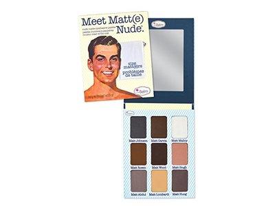 TheBalm Meet Matte Nude Eyeshadow Palette, 25.5g/0.9oz
