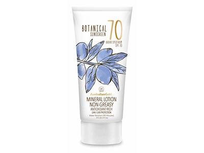 Australian Gold Botanical Sunscreen Mineral Lotion, SPF 70, 5 Ounce