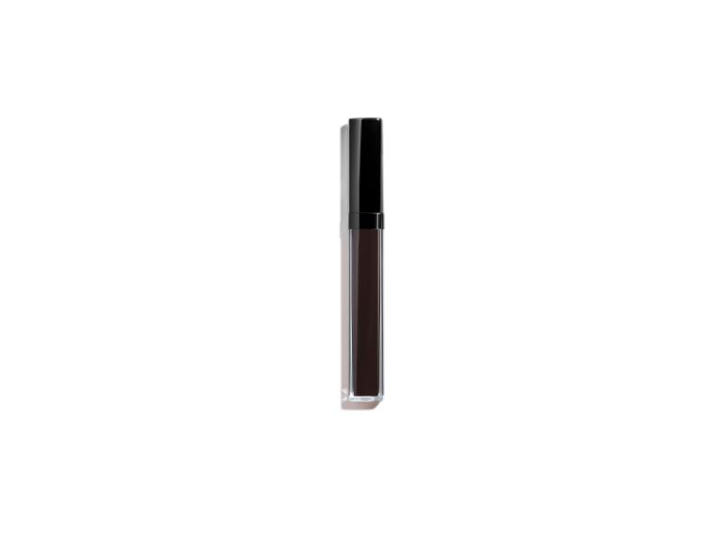 Chanel Rouge Coco Gloss Moisturizing Gloss, 816 Laque Noire, 0.19 oz