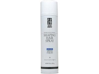 Salon Grafix Professional Shaping Hair Spray Super Hold, Unscented, 10 oz