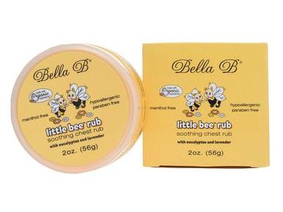 Bella B Little Bee Rub, Eucalyptus And Lavender, 2 oz/56 g