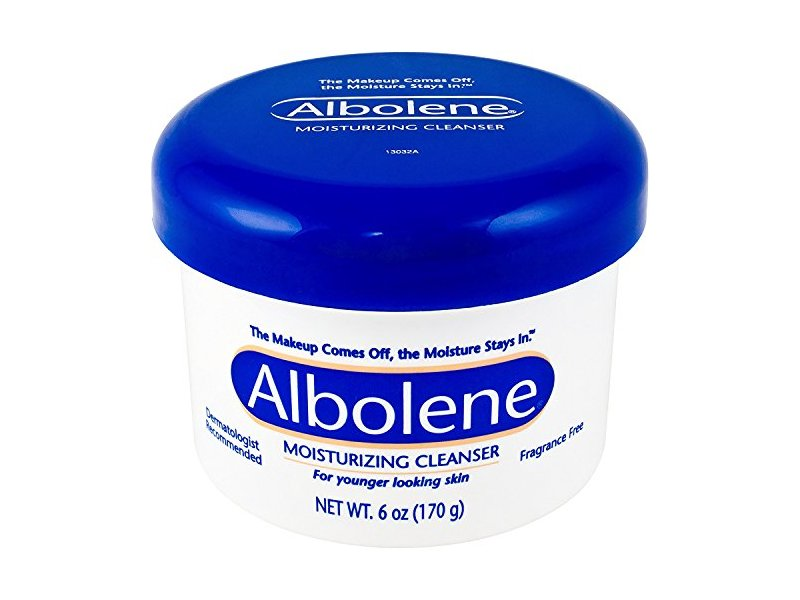 Albolene Moisturizing Cleanser, Fragrance Free, 6 oz