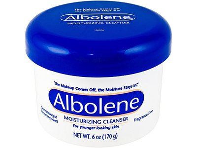 Albolene Moisturizing Cleanser, Fragrance Free, 6 oz