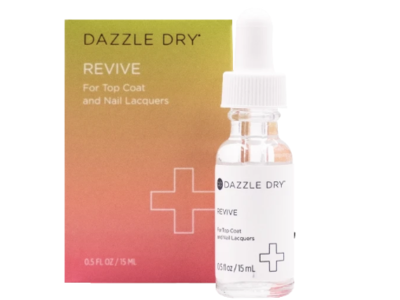 Dazzle Dry Revive For Top Coat and Nail Lacquers, 0.5 fl oz