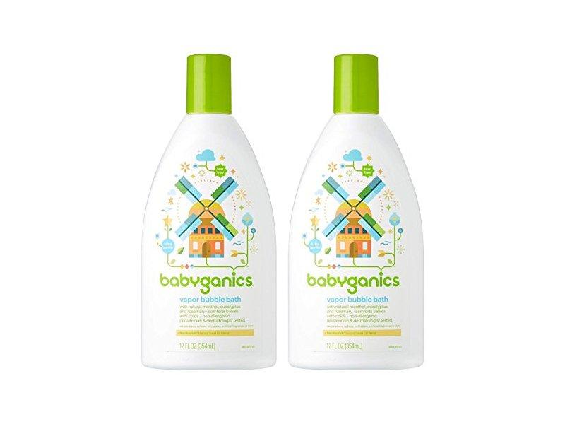 Babyganics Vapor Bubble Bath 12 Oz Bottles Ingredients And