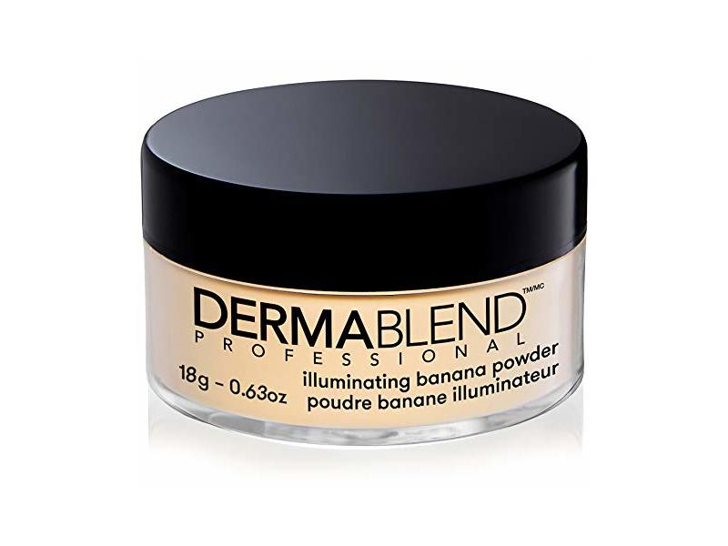 Dermablend Illuminating Banana Powder, Loose Setting Powder, 0.63 Oz.