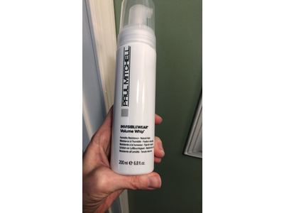 Paul Mitchell INVISIBLEWEAR Volume Whip Styling Mousse, 6.8 Fl Oz - Image 3