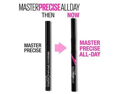Maybelline Eyestudio Master Precise All Day Liquid Eyeliner Makeup, Forest Brown, 0.034 fl. oz. - Image 4