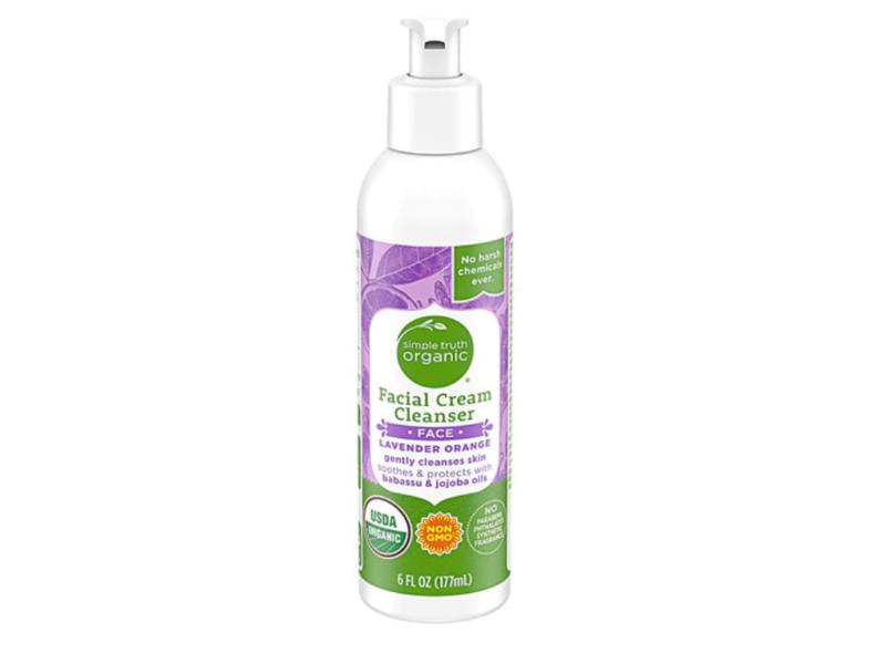 Simple Truth Organic Facial Cream Cleanser, Lavender Orange, 6 fl oz
