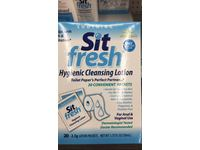 SitFresh Hygienic Cleansing Lotion, 1.75 fl oz (20 Packets) - Image 4