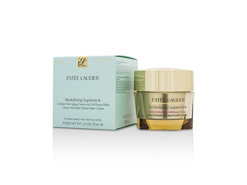 Estee Lauder Revitalizing Supreme + Global Anti-Aging Cell Power Creme, 2.5 Ounce