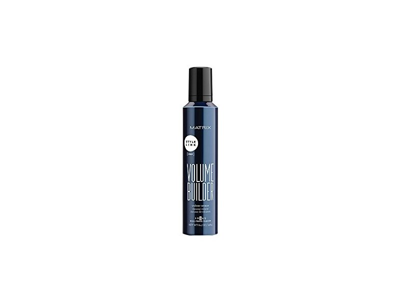Matrix Style Link Volume Builder Mousse for Unisex, 8.4 Ounce