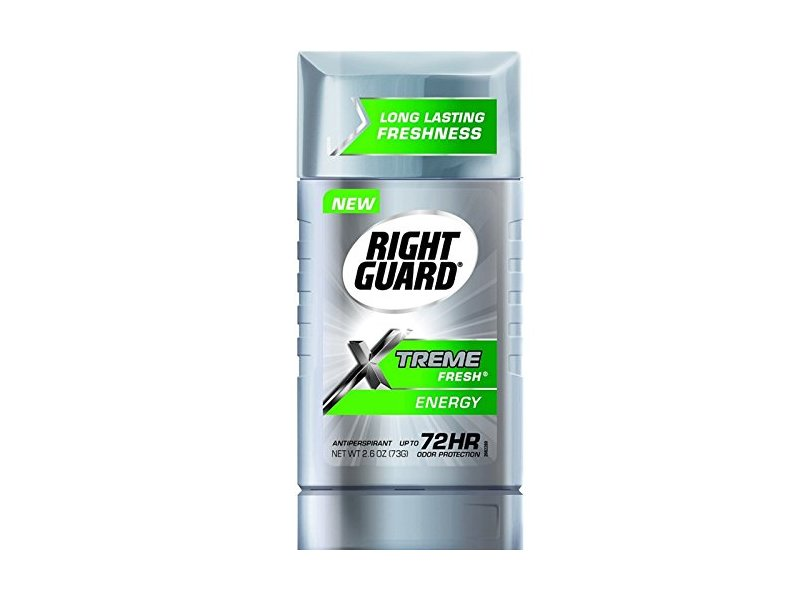 Right Guard Xtreme Fresh Antiperspirant, Energy 2.60 oz (Pack of 6)